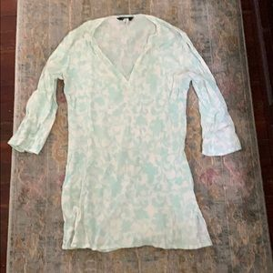J. crew turquoise cover up